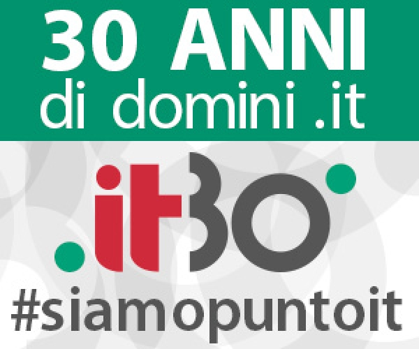 30 anni dominio .IT